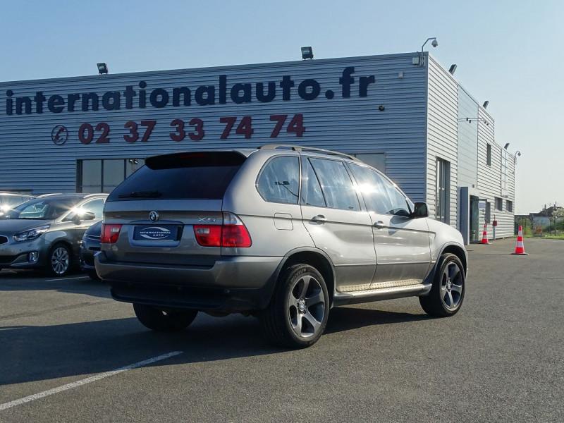 Photo 2 de l'offre de BMW X5 (E53) 3.0DA 218CH PACK LUXE à 10390€ chez International Auto Auneau