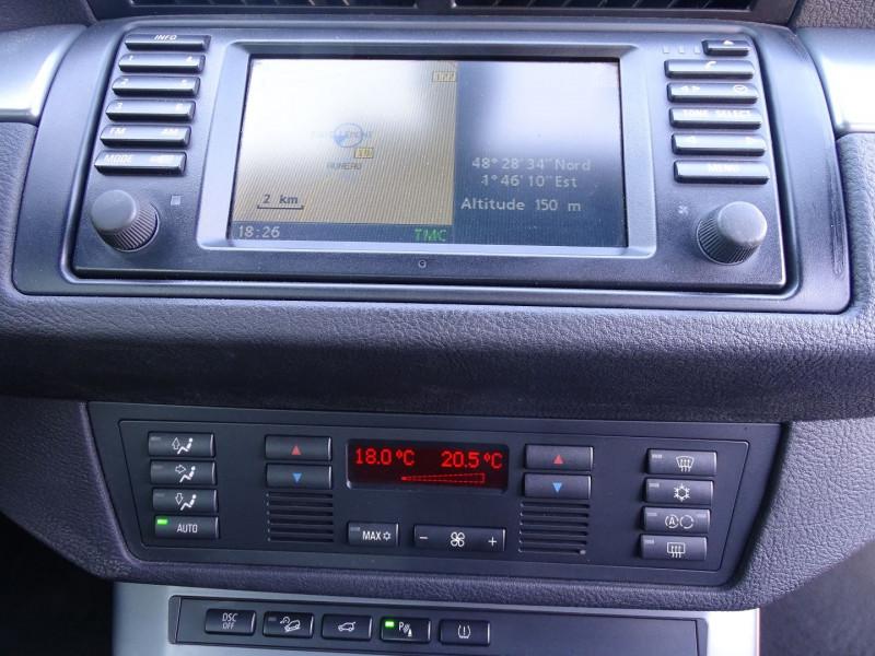 Photo 10 de l'offre de BMW X5 (E53) 3.0DA 218CH PACK LUXE à 10390€ chez International Auto Auneau