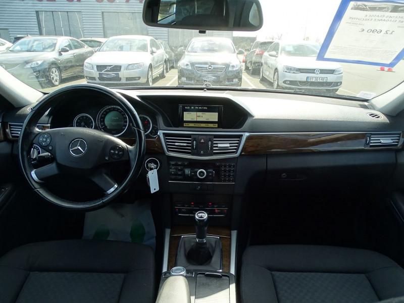 Photo 9 de l'offre de MERCEDES-BENZ CLASSE E (W212) 250 CDI BE ELEGANCE EXECUTIVE à 12690€ chez International Auto Auneau