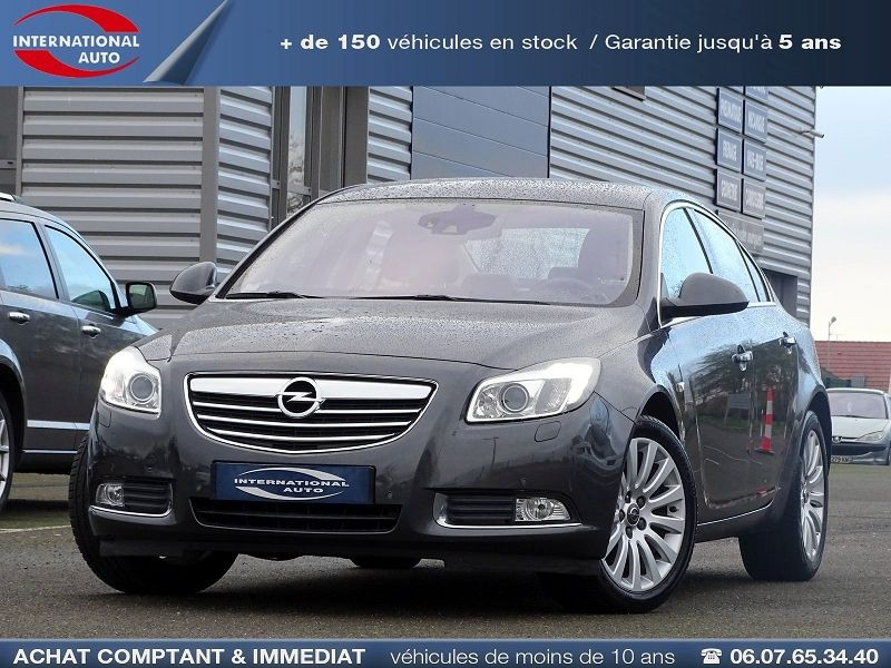 Opel INSIGNIA 2.0 TURBO COSMO PACK BA 4P Essence GRIS FONCE Occasion à vendre