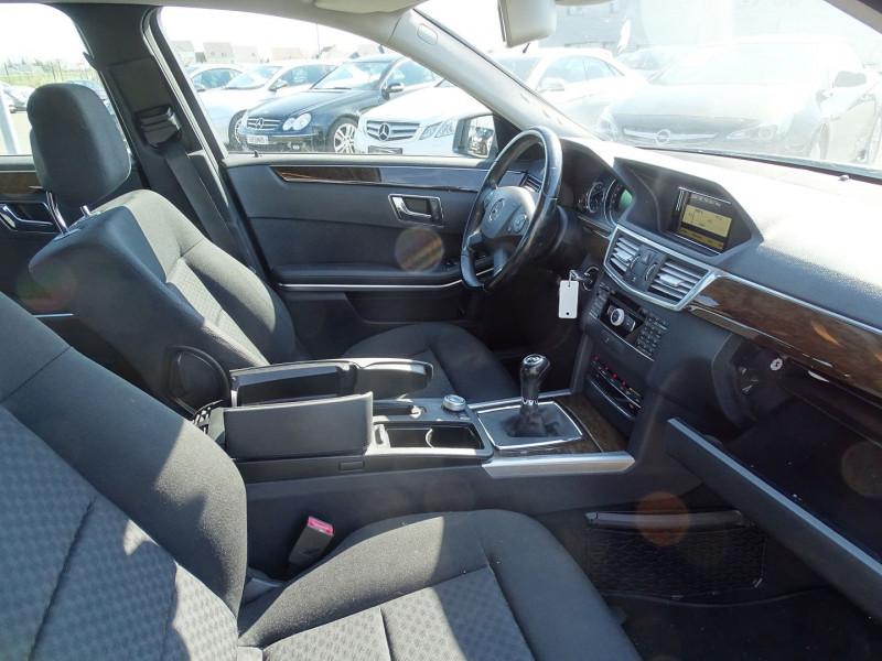 Photo 6 de l'offre de MERCEDES-BENZ CLASSE E (W212) 250 CDI BE ELEGANCE EXECUTIVE à 12690€ chez International Auto Auneau