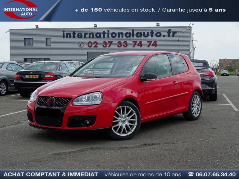 Photo 1 de l'offre de VOLKSWAGEN GOLF V 1.4 TSI 170CH GT SPORT 3P à 8790€ chez International Auto Auneau