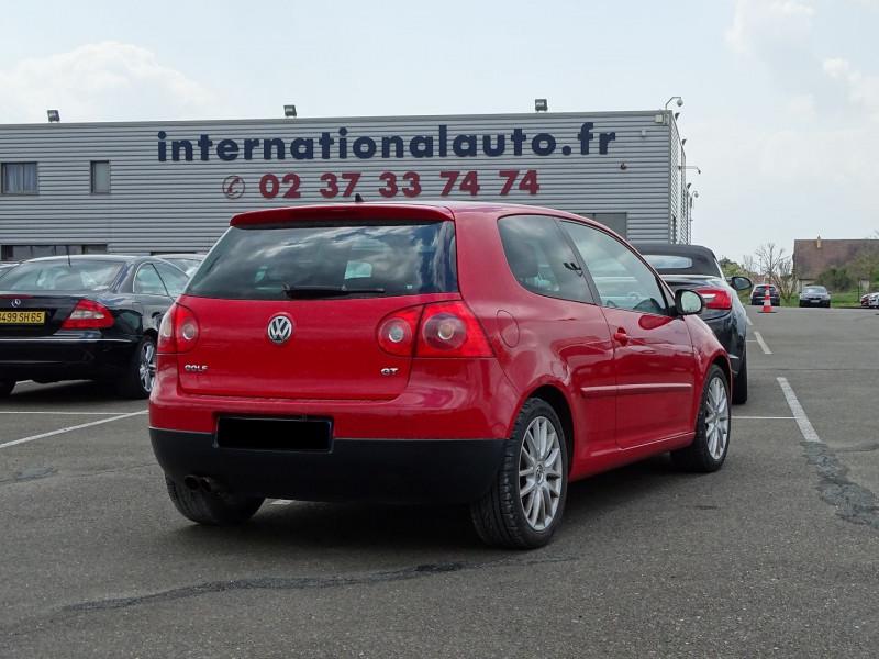 Photo 2 de l'offre de VOLKSWAGEN GOLF V 1.4 TSI 170CH GT SPORT 3P à 8790€ chez International Auto Auneau