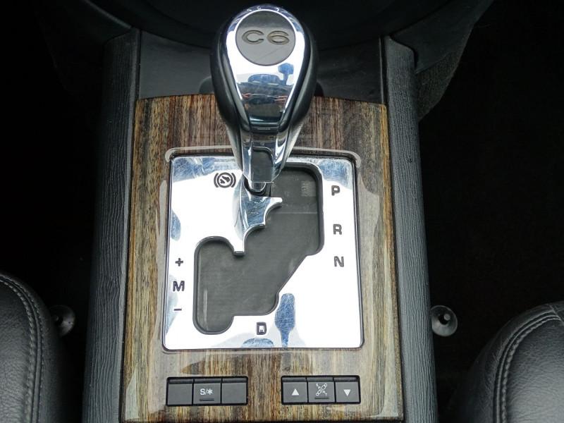 Photo 15 de l'offre de CITROEN C6 2.7 V6 HDI EXCLUSIVE FAP à 7890€ chez International Auto Auneau