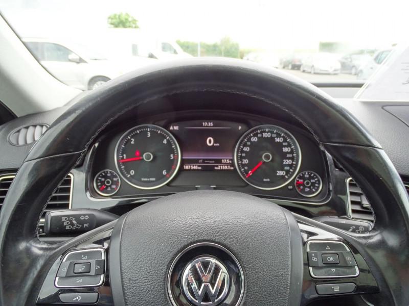 Photo 13 de l'offre de VOLKSWAGEN TOUAREG 3.0 V6 TDI 240CH FAP CARAT TIPTRONIC à 16690€ chez International Auto Auneau
