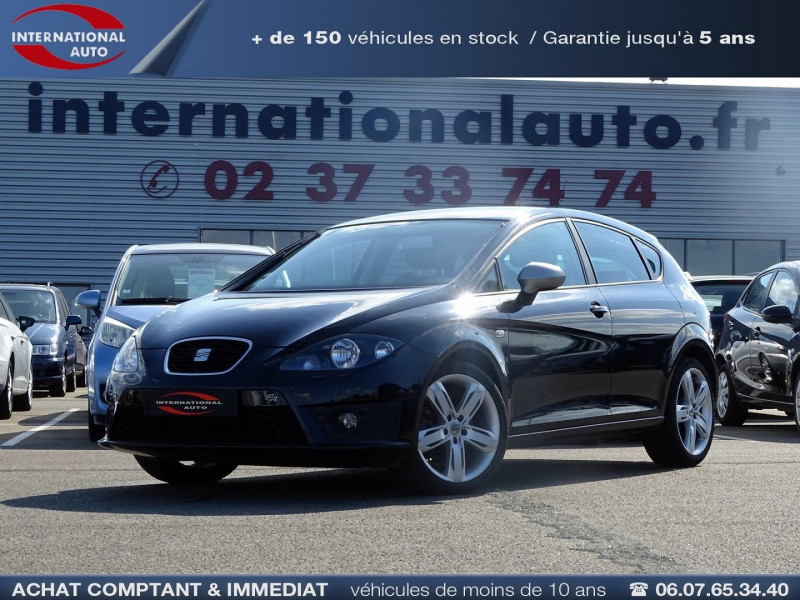 Seat LEON 2.0 TDI170 CR FAP FR Diesel NOIR Occasion à vendre