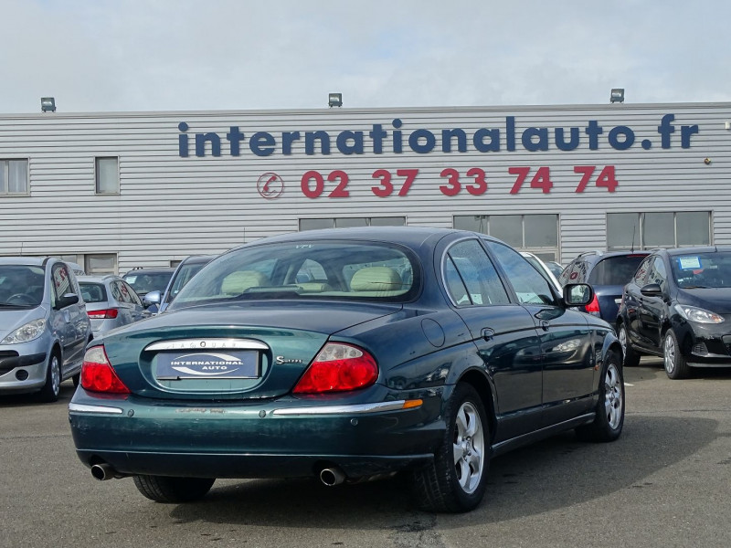 Jaguar S-TYPE 3.0 V6 PACK SPORT BA Essence VERT F Occasion à vendre