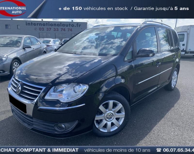 Volkswagen TOURAN 2.0 TDI 140CH CONFORTLINE 7 PLACES Diesel NOIR Occasion à vendre