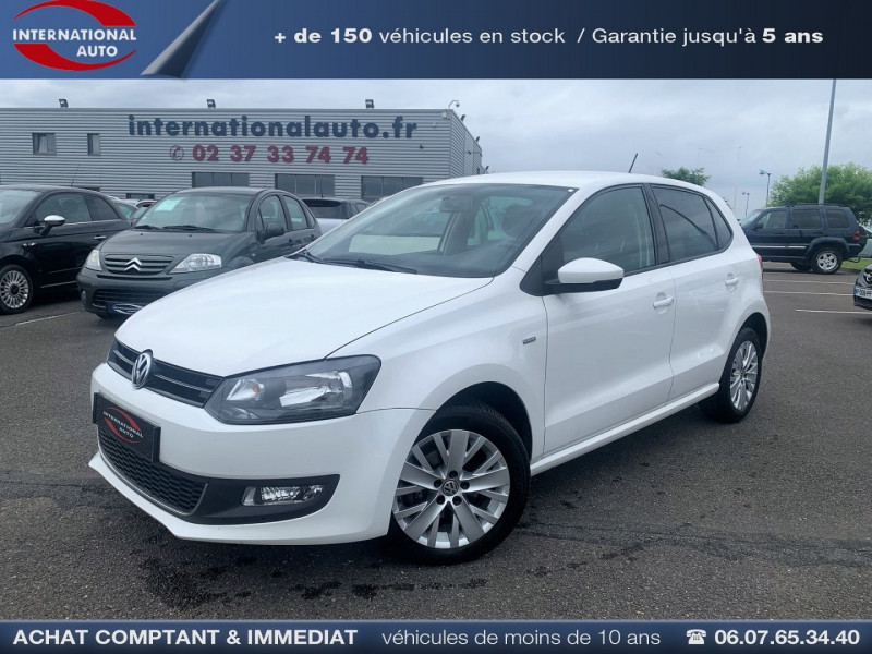 Volkswagen POLO 1.6 TDI 90CH FAP LIFE 5P Diesel BLANC Occasion à vendre