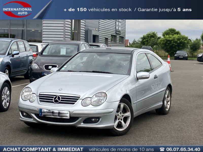 Mercedes-Benz CLASSE C COUPE SPORT (CL203) 220 CDI SPORT EDITION Diesel GRIS C Occasion à vendre