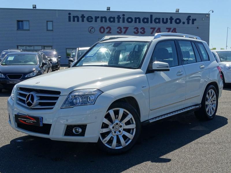 Mercedes-Benz CLASSE GLK (X204) 220 CDI BE 4 MATIC Diesel BLANC Occasion à vendre