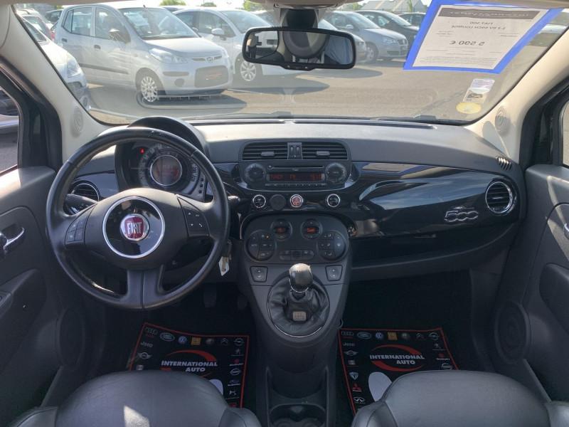 Photo 8 de l'offre de FIAT 500 1.2 8V 69CH LOUNGE à 5590€ chez International Auto Auneau
