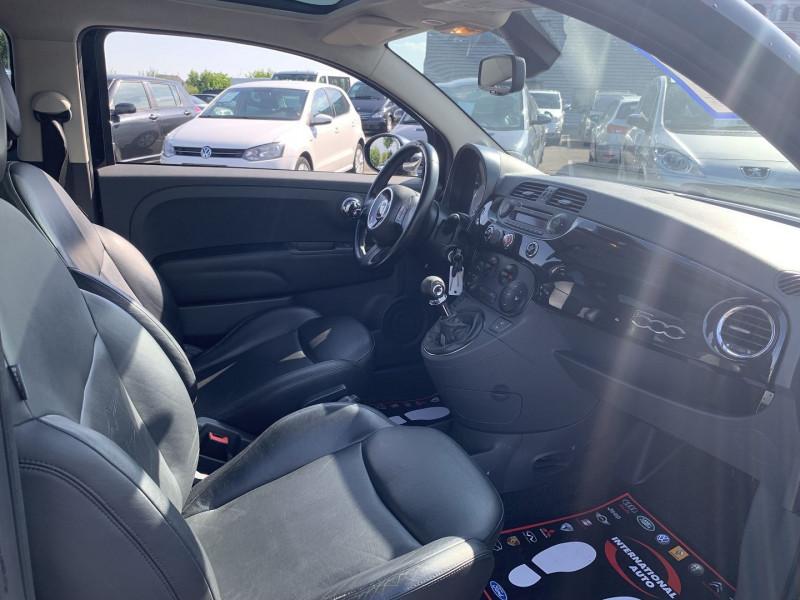 Photo 5 de l'offre de FIAT 500 1.2 8V 69CH LOUNGE à 5590€ chez International Auto Auneau