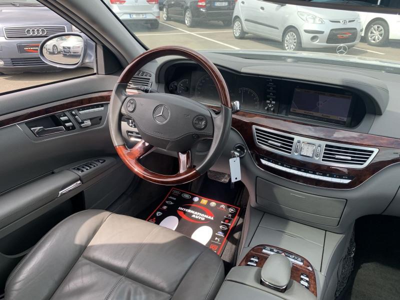 Photo 8 de l'offre de MERCEDES-BENZ CLASSE S (W221) 320 CDI 7GTRO à 15990€ chez International Auto Auneau