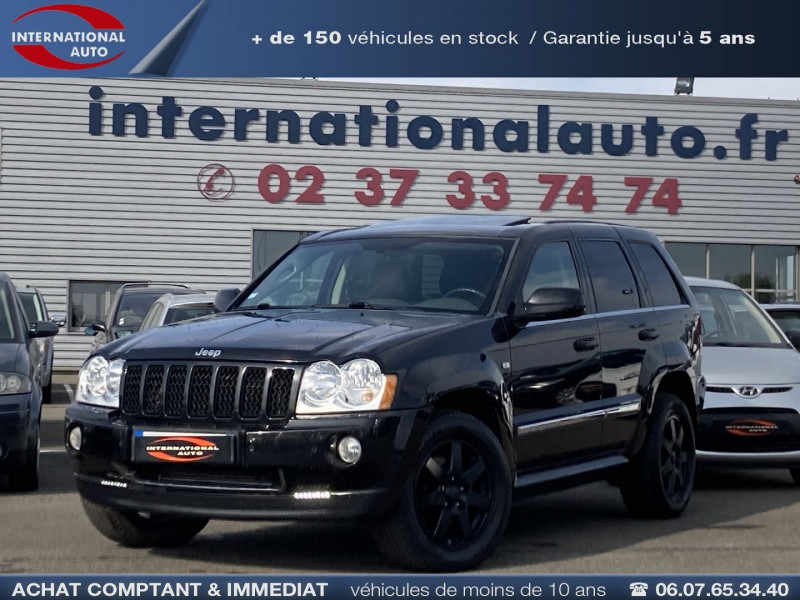 Jeep GRAND CHEROKEE 3.0 CRD LIMITED Diesel NOIR Occasion à vendre