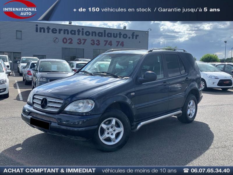 Mercedes-Benz CLASSE ML (W163) 270 CDI LUXURY BV6 Diesel NOIR Occasion à vendre