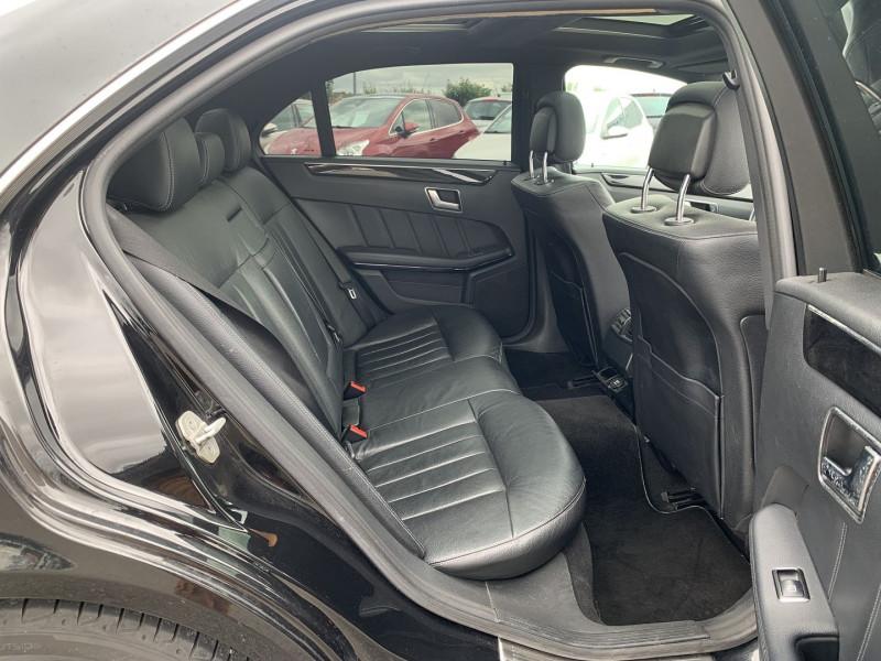 Photo 6 de l'offre de MERCEDES-BENZ CLASSE E (W212) 200 BLUETEC EXECUTIVE 7G-TRONIC PLUS à 16990€ chez International Auto Auneau