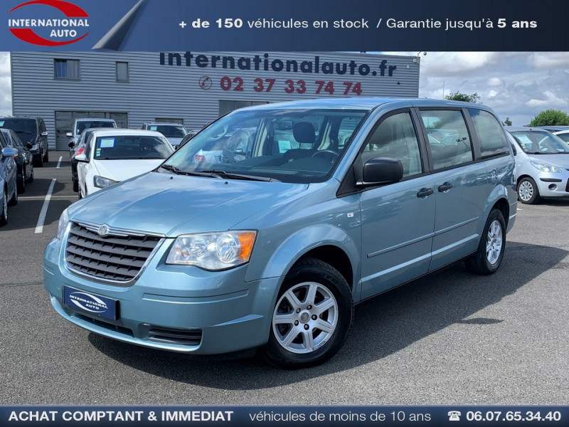 Chrysler GRAND VOYAGER 2.8 CRD LX BA Diesel VERT/BLEU  Occasion à vendre