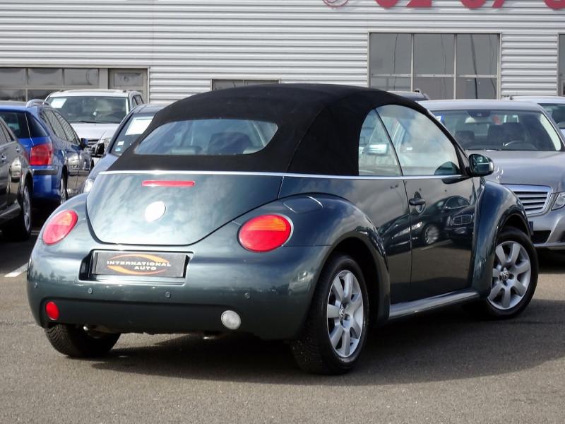 Photo 3 de l'offre de VOLKSWAGEN BEETLE CAB 2.0 115CH CARAT à 9790€ chez International Auto Auneau