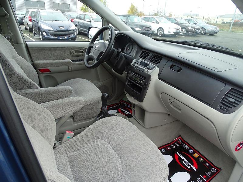 Photo 13 de l'offre de HYUNDAI TRAJET 2.0 CRDI PACK CONFORT à 4290€ chez International Auto Auneau