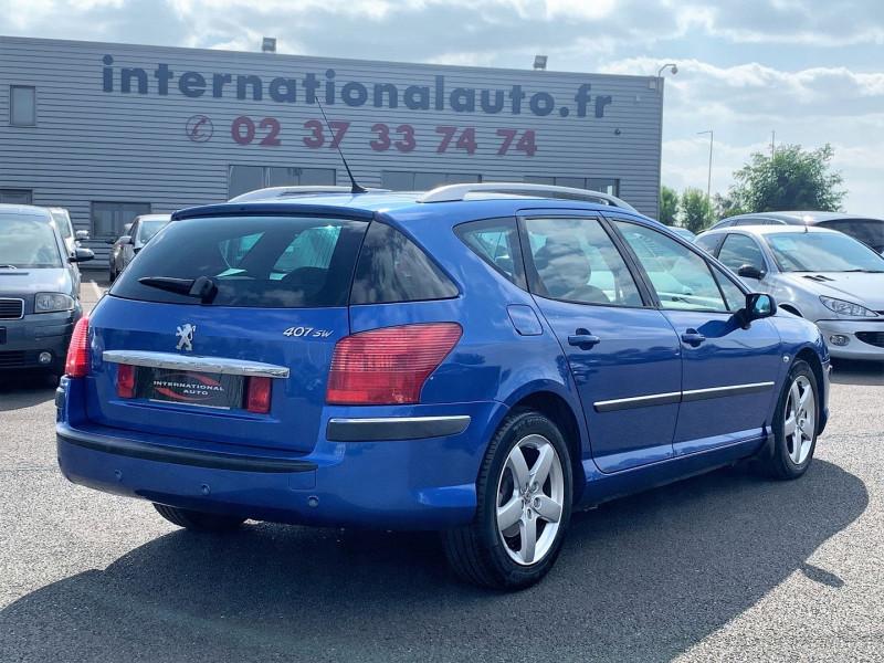 Photo 3 de l'offre de PEUGEOT 407 SW 2.0 HDI136 EXECUTIVE PACK à 4590€ chez International Auto Auneau