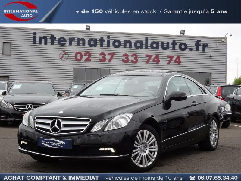 Photo 1 de l'offre de MERCEDES-BENZ CLASSE E COUPE (C207) 350 CDI EXECUTIVE BE BA à 15890€ chez International Auto Auneau