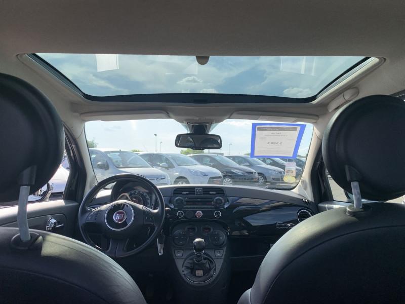 Photo 12 de l'offre de FIAT 500 1.2 8V 69CH LOUNGE à 5590€ chez International Auto Auneau