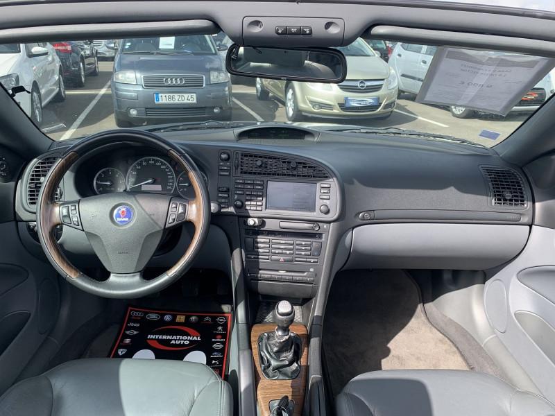 Photo 10 de l'offre de SAAB 9-3 CABRIOLET 1.9 TID150 VECTOR à 9890€ chez International Auto Auneau