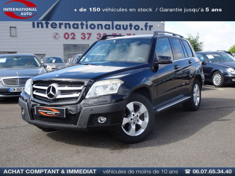 Photo 1 de l'offre de MERCEDES-BENZ CLASSE GLK (X204) 280 PACK SPORT 4 MATIC à 13490€ chez International Auto Auneau