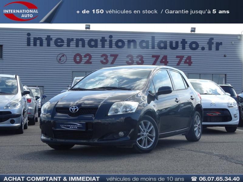 Toyota AURIS 126 D-4D FAP DYNAMIC PACK GPS 5P Diesel NOIR Occasion à vendre