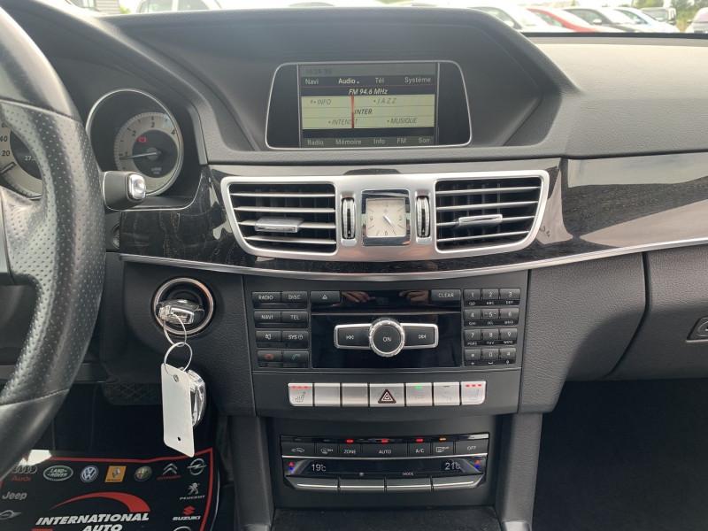 Photo 11 de l'offre de MERCEDES-BENZ CLASSE E (W212) 200 BLUETEC EXECUTIVE 7G-TRONIC PLUS à 16990€ chez International Auto Auneau