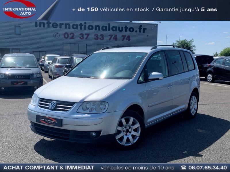 Volkswagen TOURAN 1.6 FSI 115CH CONFORT 7 PLACES Essence GRIS C Occasion à vendre