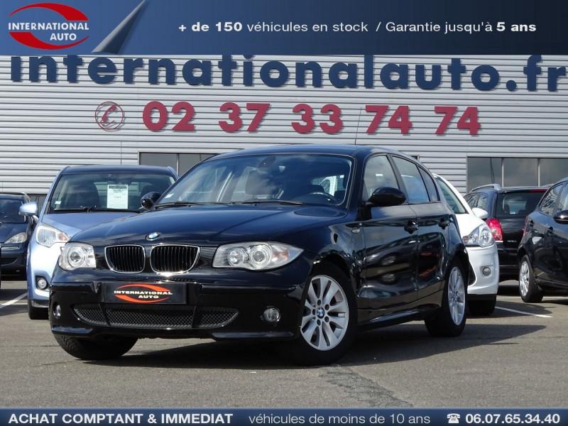 Bmw SERIE 1 (E81/E87) 118D 122CH CONFORT 5P Diesel NOIR Occasion à vendre