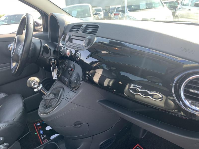 Photo 15 de l'offre de FIAT 500 1.2 8V 69CH LOUNGE à 5590€ chez International Auto Auneau