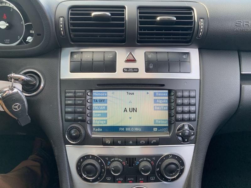 Photo 10 de l'offre de MERCEDES-BENZ CLASSE CLC (CL203) 200 CDI BA à 9490€ chez International Auto Auneau