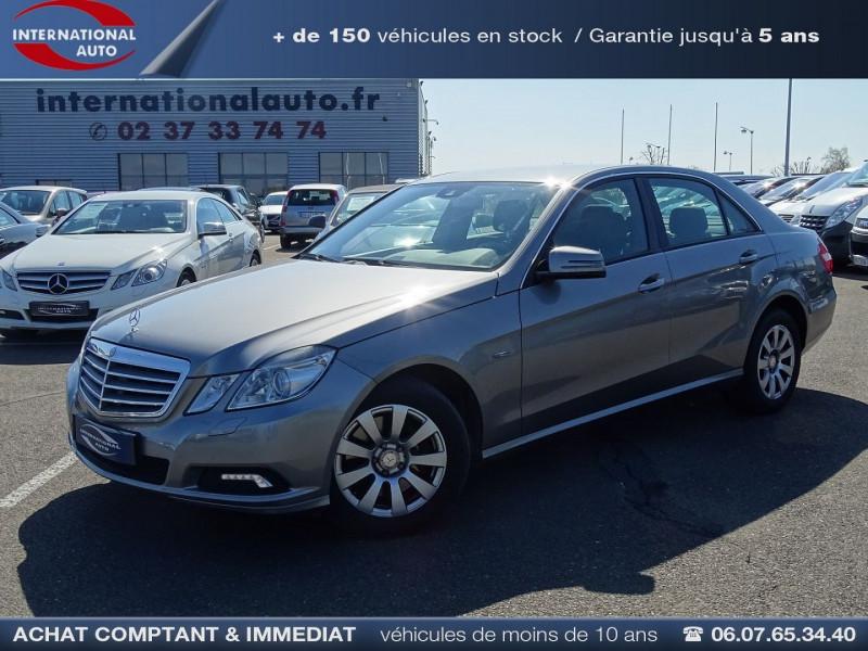 Mercedes-Benz CLASSE E (W212) 250 CDI BE ELEGANCE EXECUTIVE Diesel GRIS MEDIUM  Occasion à vendre