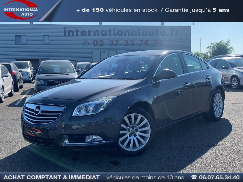 Opel INSIGNIA 2.0 TURBO COSMO PACK BA 5P Essence GRIS FONCE Occasion à vendre