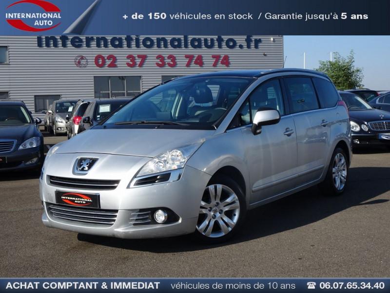 Peugeot 5008 1.6 HDI FAP PREMIUM PACK 7PL Diesel GRIS CLAIR  Occasion à vendre