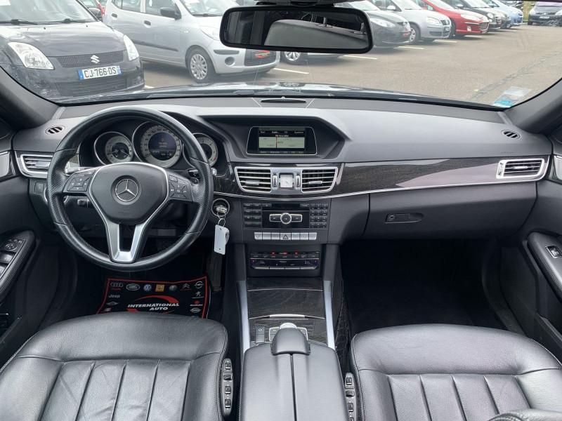 Photo 8 de l'offre de MERCEDES-BENZ CLASSE E (W212) 200 BLUETEC EXECUTIVE 7G-TRONIC PLUS à 16990€ chez International Auto Auneau