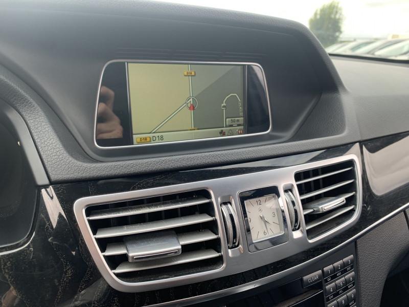 Photo 12 de l'offre de MERCEDES-BENZ CLASSE E (W212) 200 BLUETEC EXECUTIVE 7G-TRONIC PLUS à 16990€ chez International Auto Auneau