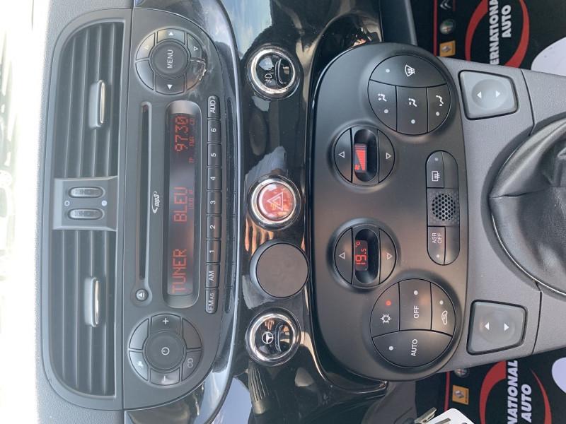 Photo 10 de l'offre de FIAT 500 1.2 8V 69CH LOUNGE à 5590€ chez International Auto Auneau