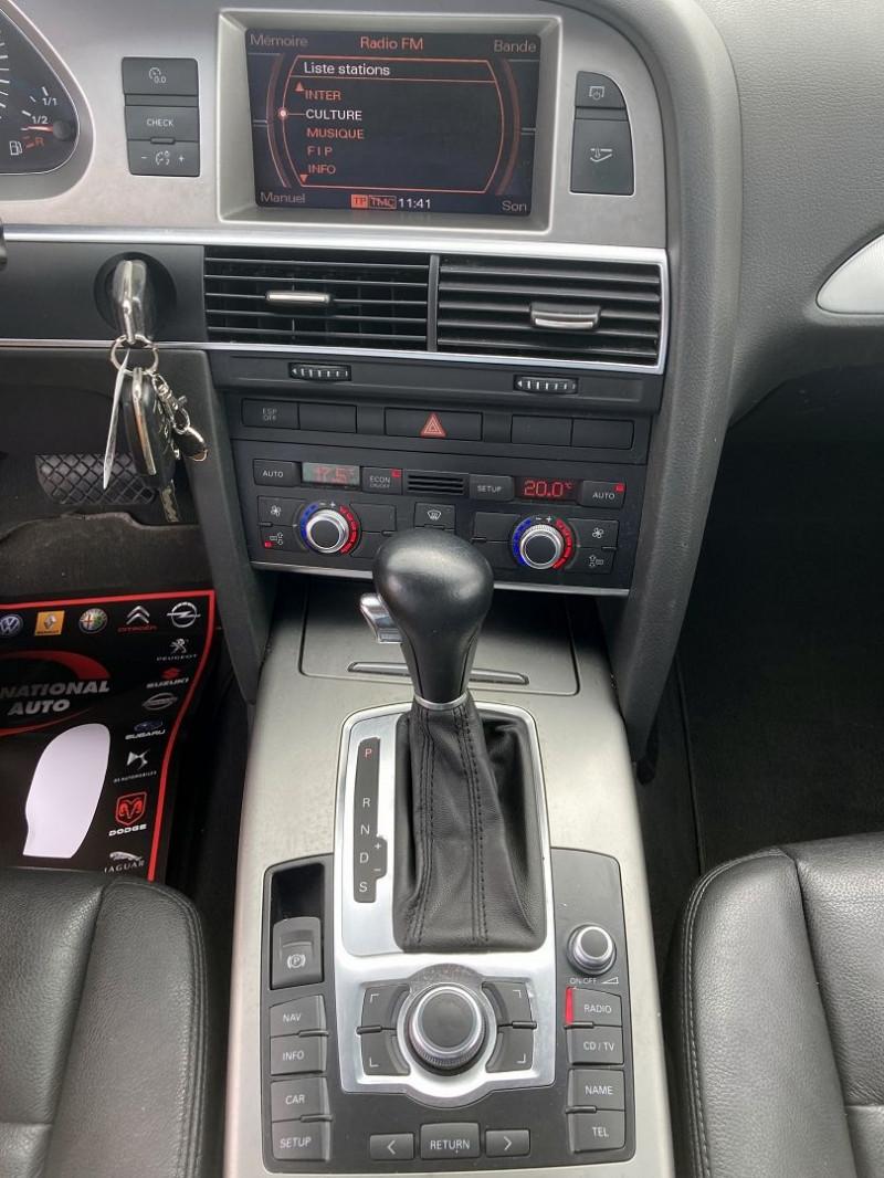 Photo 7 de l'offre de AUDI A6 2.7 V6 TDI 180CH DPF AMBITION LUXE QUATTRO TIPTRONIC à 9590€ chez International Auto Auneau