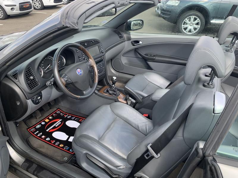 Photo 5 de l'offre de SAAB 9-3 CABRIOLET 1.9 TID150 VECTOR à 9890€ chez International Auto Auneau