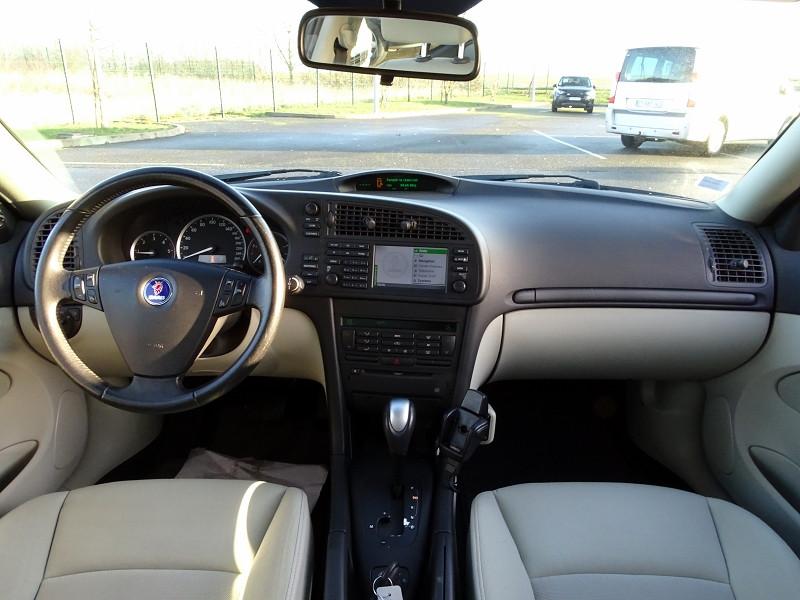 Photo 6 de l'offre de SAAB 9-3 1.9 TID150 FAP LINEAR SPORT SENTRONIC à 6590€ chez International Auto Auneau
