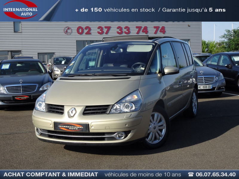 Renault ESPACE IV 3.0 V6 DCI 180CH INITIALE BVA Diesel BEIGE Occasion à vendre