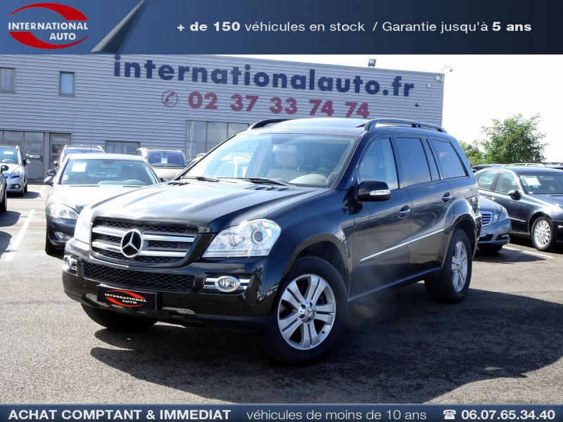 Mercedes-Benz CLASSE GL (X164) 320 CDI PACK LUXE 7PL Diesel MARRON Occasion à vendre