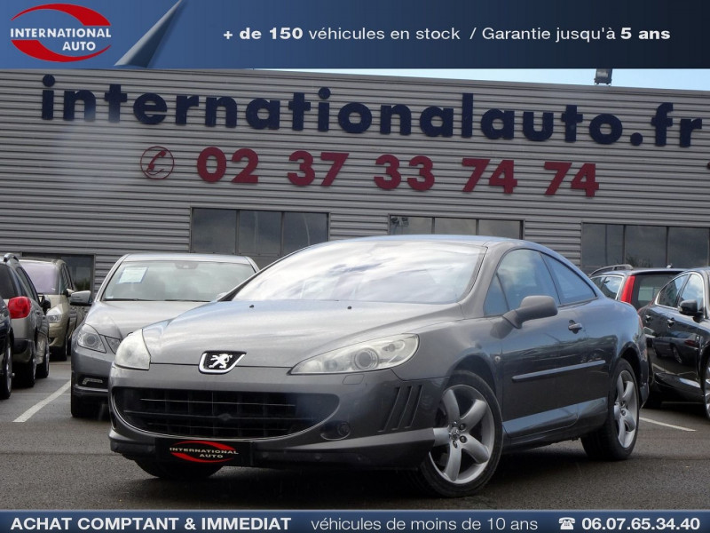 Peugeot 407 COUPE 2.7 V6 HDI NAVTEQ BAA FAP Diesel GRIS C Occasion à vendre