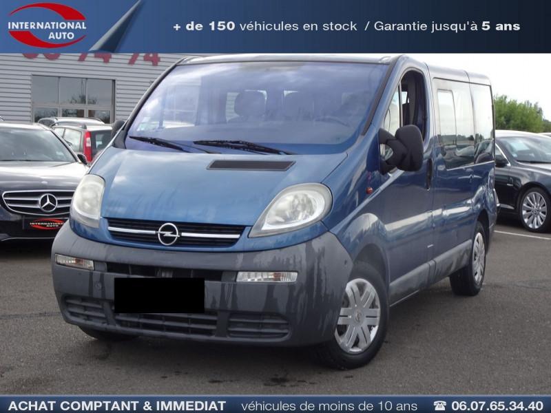 Opel VIVARO TOUR 1.9 CDTI100 C1 PACK CLIM Diesel BLEU F Occasion à vendre
