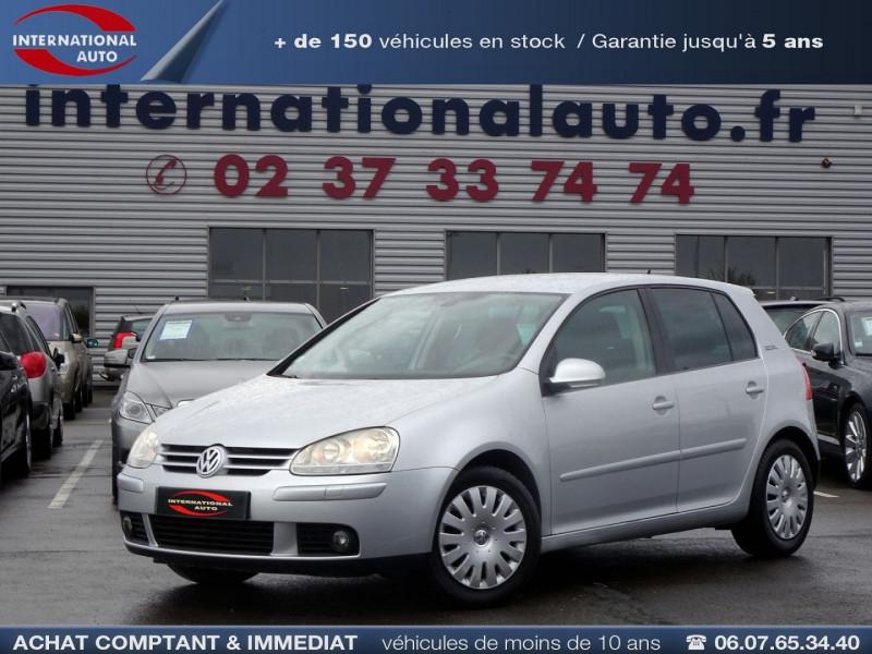 Volkswagen GOLF V 1.6 FSI 115CH CONFORT 5P Essence GRIS CLAIR  Occasion à vendre