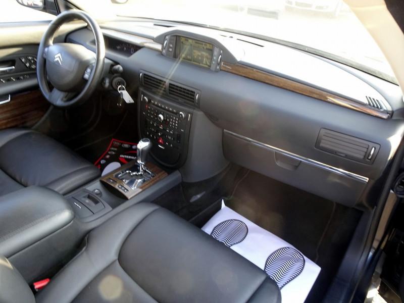 Photo 16 de l'offre de CITROEN C6 2.7 V6 HDI EXCLUSIVE FAP à 10890€ chez International Auto Auneau